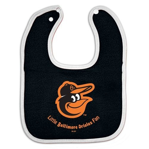 Baltimore Orioles Baby Bib - All Pro