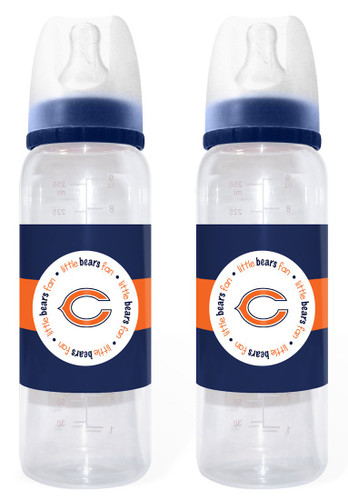 Chicago Bears Baby Bottle 2 Pack