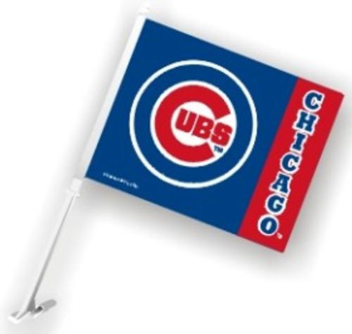 Chicago Cubs Car Flag