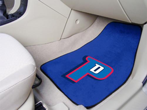Detroit Pistons Printed Carpet Car Mat 2 Piece Set