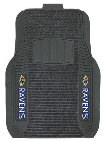 Baltimore Ravens Car Mats Deluxe Set