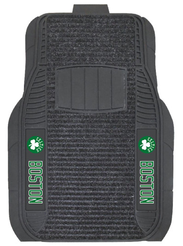 Boston Celtics Car Mats - Deluxe Set