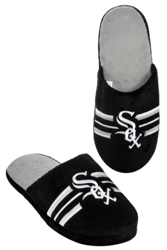 Chicago White Sox Slippers - Mens Stripe