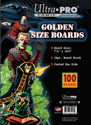 "Boards - Golden 7 1/2"" x 10 1/2"" 100pk"