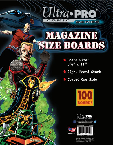 Boards - Magazine 8 1/2 x 11 100pk