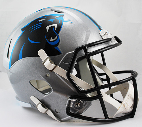 Carolina Panthers Deluxe Replica Speed Helmet
