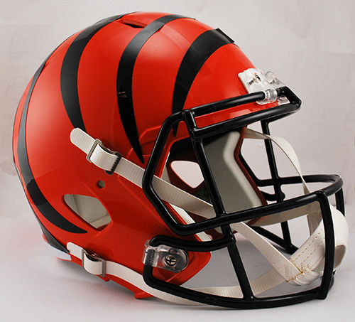 Cincinnati Bengals Deluxe Replica Speed Helmet