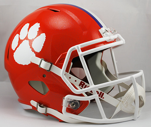 Clemson Tigers Deluxe Replica Speed Helmet