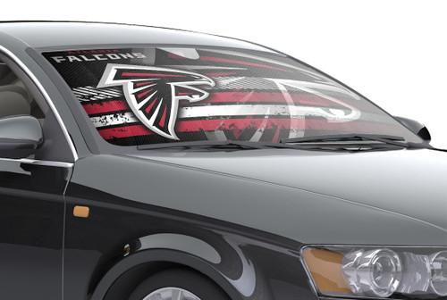 """Atlanta Falcons Auto Sun Shade - 59""""x27"""""""