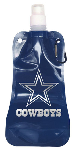 Dallas Cowboys 16 ounce Foldable Water Bottle