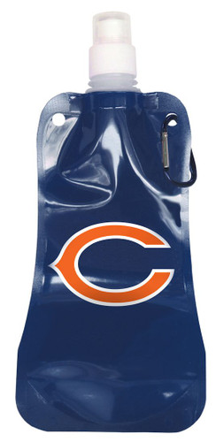 Chicago Bears 16 ounce Foldable Water Bottle