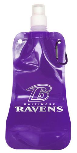 Baltimore Ravens 16 ounce Foldable Water Bottle