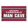 Arizona Cardinals 3'x5' Man Cave Design Flag