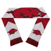 Arkansas Razorbacks Scarf - Reversible Stripe - 2016
