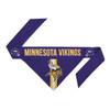 Minnesota Vikings Dog Bandanna Size XS