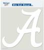 "Alabama Crimson Tide Die-Cut Decal - 8""x8"" White"