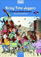 String Time Joggers Violin book + CD, by David Blackwell, Kathy Blackwell for Violin, Publisher  Oxford University Press