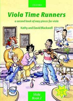 Viola Time Runners + CD, by David Blackwell, Kathy Blackwell for Viola, Publisher  Oxford University Press