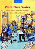 Viola Time Scales, revised edition, by David Blackwell, Kathy Blackwell for Viola, Publisher  Oxford University Press