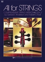 All For Strings Book 2 Double Bass, by Gerald Anderson, Robert Frost for Double Bass, Publisher  Neil A. Kjos Music Company