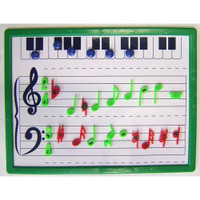 Magnetic Music Whiteboard -Small