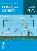 Music Craft - Student Workbook 4A, series of AMEB Music Craft, Publisher  AMEB
