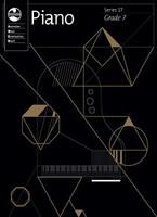 Piano Series 17 - Grade 7, series of  AMEB Piano, Publisher  AMEB