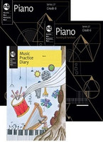 Piano Series 17 - Student Pack Grade 6, series of AMEB Piano, Publisher  AMEB