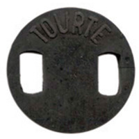 Cello Tourte Rubber Mute Round Shape