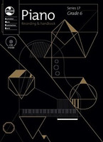 Piano Series 17 - Recording and Handbook Grade 6, series of AMEB Piano, Publisher  AMEB