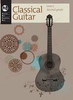 Classical Guitar Series 2 - Second Grade, for Classical Guitar, Publisher  AMEB