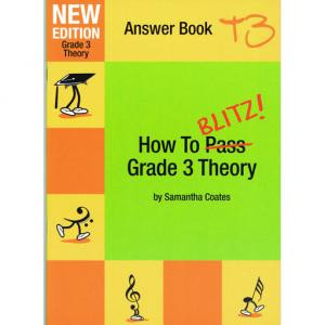 How To Blitz Grade 3 Theory Answer Book By Samantha