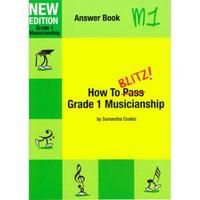 How To Blitz Musicianship Gr 1 Answer Book