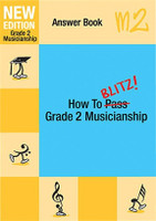 How To Blitz Musicianship Gr 2 Answer Book
