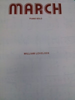 March for piano solo by William Lovelock,70% off