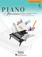 Piano Adventures Level 3A - Theory Book 2nd Edition, by Nancy Faber Randall Faber for Piano, Publisher  Faber Piano Adventures