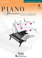 Piano Adventures Level 2B - Performance Book, by Nancy Faber Randall Faber for Piano, Publisher  Faber Piano Adventures