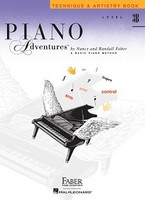 Piano Adventures Level 3B - Technique & Artistry Book, by Nancy Faber Randall Faber for Piano, Publisher  Faber Piano Adventures