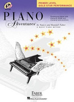 Piano Adventures Primer Level - Gold Star Performance, by  Nancy Faber Randall Faber for Piano, Publisher  Faber Piano Adventures