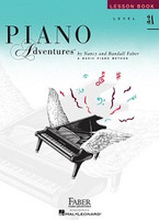 Piano Adventures Level 3A - Lesson Book 2nd Edition, by Nancy Faber Randall Faber for Piano, Publisher  Faber Piano Adventures