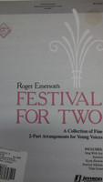 Festival For Two for 2-part arrngements for young voices by Rodger Emerson's,70% off