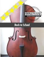 Enrico Student Plus II 4/4 Cello Outfit (includes Bow, Soft Case & Pro Set-Up)