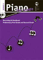 Piano for Leisure Series 3 Recording & Handbook - Preliminary, First & Second Grades