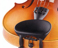 Space Age anti-allergy Wittner Violin Chinrest 1/16 to 1/8 - Central