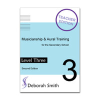 Musicianship and Aural Training for the Secondary School LEVEL 3 TEACHER Book