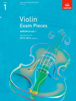 *SALE* ABRSM Grade 1, Score & Part: Selected from the 2012-2015 Syllabus