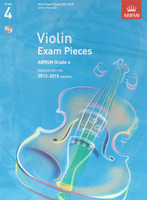 *SALE* ABRSM Grade 4, Score, Part & CD: Selected from the 2012-2015 syllabus