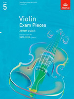 *SALE* ABRSM Grade 5, Score & Part: Selected from the 2012-2015 syllabus