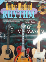 Progressive Guitar Method Rhythm with CD/DVD by Gary Turner,30% off