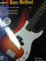 Basix Bass Method  with CD by Morty Manus&Ron Manus